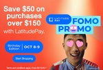 Save $50 off $150 with LatitudePay @ Harvey Norman