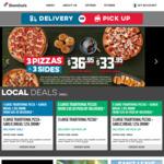 [QLD] Value $2.95ea / Traditional $4.95ea / Premium $6.95ea (Pick up) / Any above $8.95ea (Delivered) @ Domino's Pizza Calamvale