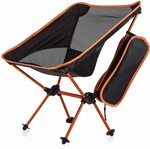 Newdora Portable Ultralight Folding Camping Chair $24.99 + Delivery ($0 with Prime/ $39 Spend) @ Newdora Amazon AU