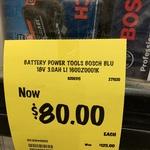 Bosch Blue 18v 3.0Ah Battery $80 @ Bunnings Eltham
