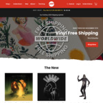 Free Shipping on All Vinyl at Mondoshop (Titles from US$7 Shipped)