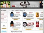 Discount Supplements on sale Orange Triad @ $50, SNS Focus XT @ $45, Free Postage!