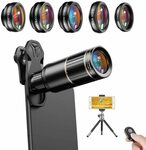 Apexel Cell Phone Camera Lens Kit $26.38 (20% off) + Delivery ($0 with Prime / $39 Spend) @ Aipai Optic via Amazon AU