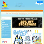 10% off Storewide (Range of Showbags, Diecast Cars, Party Supplies and Lollies) @ Ancelonline.com.au
