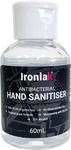 Ironlak Antibacterial Hand Sanitiser 60ml $1 (Normally $4.95) with $8.36 Shipping @ Ironlak