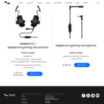 Nuraphone Headphones + Nuraphone Gaming Microphone $463 (Was $579.99), Nuraloop Headphones $239 (Was $299) Shipped @ Nuraphone