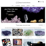 30% off Store Wide Sale - Stones & Crystals + Free Shipping - First 20 Customers @ Unique Crystals & Stones