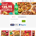 3 Pizzas & 3 Sides for $34.95 Pick or Delivered @ Pizza Hut