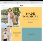 Double Reward Credits When Paying with Afterpay ($100- $2000, 4 Instalments) @ Myer