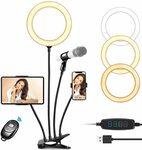 8'' Selfie Ring Light 40% off $24.59 Delivered @ CREUSA via Amazon AU