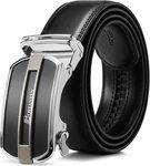 40% off Bostanten Men's Leather Belt $14.99 + Delivery ($0 with Prime/ $39 Spend) @ Bostanten Amazon AU