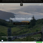 10% off Premium Coffee and Reusable Coffee Pods + Free Shipping on All Orders @ Don Massimo Coffee