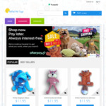 Buy 2 Pet Toys ($11.95 Each), Get A Third Toy for Free + Free Shipping @ Petpat