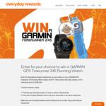 Win a GARMIN GPS Forerunner 245 Running Watch Worth $579 from Everyday Rewards