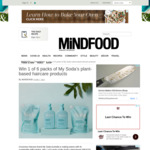 Win 1 of 6 My Soda Plant-Based Smooth Range Haircare Packs Worth $44 from MiNDFOOD
