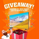 Win a Samsung 65 Inch Smart LED TV (Worth $2,000) from O.J. Beer