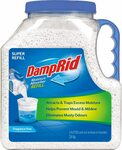 [Prime] Damprid Moisture Absorber Super Refill Fragrance Free, 3.4 kg - $6.125 + Delivery ($0 with Prime/ $39 Spend) @ Amazon AU
