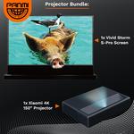 "Xiaomi 4K Laser Projector (AU) + Vividstorm 120"" Floor Rising Screen $3999 (& Bonus $40 Coupon) + Delivery @ Panmi Group Buy"