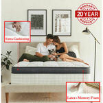 Single Extra Cushioning Euro Top Pocket Spring Mattress Memory Foam+Latex $299 Delivered @ dorinca eBay