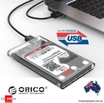 4x Orico 2139U3 Clear Toolfree SSD Enclosure $39.84 Delivered ($9.96 Each) @ Shopping Square