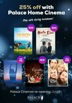 $3 Movie Streaming Rentals @ Palace Home Cinema (Free Membership Required)