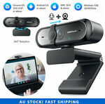 Campark USB Webcam 1080P $13.51 ($13.20 with eBay Plus) Delivered @ myzone_cam eBay