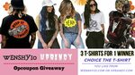Win a 3 T-Shirts from Wenshyio & Uprandy - Week 11 from Opcoupon