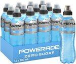 Powerade ION4 Mountain Blast Zero Sports Drink, 12x600ml $21.60 ($19.44 S&S) + Delivery ($0 with Prime/ $39 Spend) @ Amazon AU