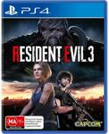 [PS4] Resident Evil 3 - $10 (Click and Collect Limited Stock) @ JB Hi-Fi