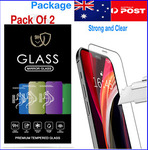 2x iPhone 11, 12 and 13 (All Models) Tempered Glass Screen Protectors $6.99 Delivered @ oze_traders eBay