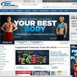 Free Shipping at BodyBuilding.com for Next 22 Hours
