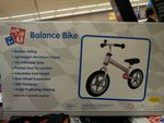 $49 Aluminium Balance Bike @ Aldi - Fully Adjustable + Rear Suspension