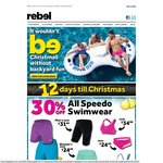 All Speedo Swimwear 30% off at Rebel Sport