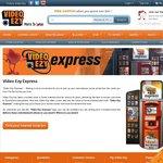 Free DVD/Blu Ray Hire Video Ezy Express Machine