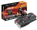 ASUS DirectCUII HD7970 3GB US$288.29 + US$26.34 Shipping from Amazon  (~AUD$334)