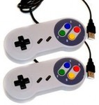 2x Super Nintendo USB Controllers $18 (Delivery with Tracking Extra $7)
