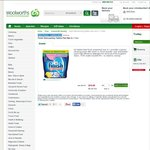 Finish Powerball Dishwashing Tablets Pink Max in 1 52pk @ Woolworths $10 (20c Each) Online Only