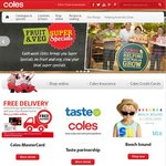 Coles/Liquorland 50% off Deals - Starts 8th January
