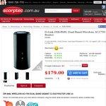 D-Link DIR-868L Wireless AC1750 Router $143 ($193 Shipped - $50 Cashback)