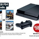 PS4 + Choice out of 4 Games for $588 @ Target