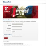 FitnessFirst - Free Entry for Australia Fitness Week