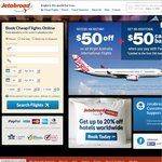 Pay with PayPal for $100 off Any Virgin International Flight thru Jetabroad