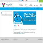 Free Cycling Pack Including a Knog Bike Light - Bicycle Network (New Riders)