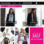 THE ICONIC Click Frenzy Deal - 25% off Full Price Styles (with Exclusions)