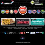 Domino's Eclub Offer 2 Pizzas, 2 Garlic Breads and 2 X 1.25l Drinks from $30 Delivered