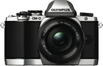 Olympus OM-D E-M10 Silver with 14-42mm EZ Single Lens Kit $679 @ The Good Guys