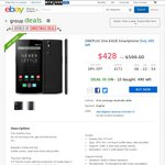OnePlus One 64GB Smartphone on eBay Group Buy DWI - $428 Delivered