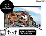 "Bauhn 55"" 4K Ultra HD LED Smart TV $799 @ Aldi 25/3"