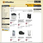 Lexmark Cx410de MF Colour Printer $349 (Was $899) | Brother Label Maker $29 (Was $40) + Post @ OfficeMax