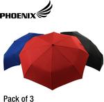 3-Pack Phoenix Pocket Umbrellas - 22'' $9.95 Delivered with Visa Checkout @OO.com (was $24.95)
